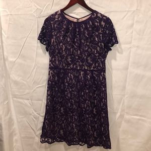 Adrianna Papell Soft Lace Dress